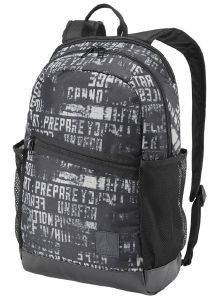 ΤΣΑΝΤΑ ΠΛΑΤΗΣ REEBOK SPORT FOUNDATION ACTIVE GRAPHIC BACKPACK ΜΑΥΡΗ