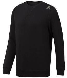 ΜΠΛΟΥΖΑ REEBOK SPORT ELEMENTS FLEECE CREW ΜΑΥΡΗ