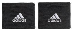 ΠΕΡΙΚΑΡΠΙΑ ADIDAS PERFORMANCE TENNIS WRISTBAND SMALL ΜΑΥΡΑ