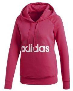 ΦΟΥΤΕΡ ADIDAS PERFORMANCE ESSENTIALS LINEAR PULLOVER HOODIE ΜΑΤΖΕΝΤΑ