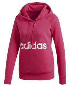 ΦΟΥΤΕΡ ADIDAS PERFORMANCE ESSENTIALS LINEAR PULLOVER HOODIE ΜΑΤΖΕΝΤΑ (S)
