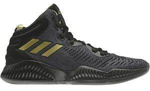ΠΑΠΟΥΤΣΙ ADIDAS PERFORMANCE MAD BOUNCE 2018 ΜΑΥΡΟ (UK:9, EU:43 1/3)