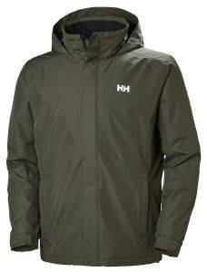 ΜΠΟΥΦΑΝ HELLY HANSEN DUBLINER INSULATED JACKET ΧΑΚΙ