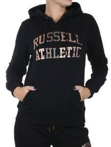 ΦΟΥΤΕΡ RUSSELL ATHLETIC PULL OVER HOODY ΜΑΥΡΟ