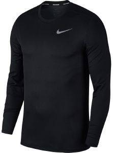 ΜΠΛΟΥΖΑ NIKE BREATHE RUN LONG SLEEVE TOP ΜΑΥΡΗ (L)
