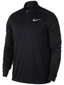 ΜΠΛΟΥΖΑ NIKE PACER HALF-ZIP LONG SLEEVE TOP ΜΑΥΡΗ (M)