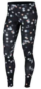ΚΟΛΑΝ NIKE ESSENTIAL PRINTED MID-RISE RUNNING TIGHTS ΜΑΥΡΟ