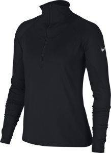ΜΠΛΟΥΖΑ NIKE PRO WARM LONG SLEEVE HALF-ZIP TOP ΜΑΥΡΗ