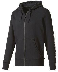 ΖΑΚΕΤΑ ADIDAS PERFORMANCE ESSENTIALS HOODIE ΜΑΥΡΗ