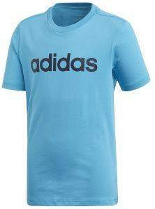 ΜΠΛΟΥΖΑ ADIDAS PERFORMANCE ESSENTIALS LINEAR LOGO TEE ΜΠΛΕ