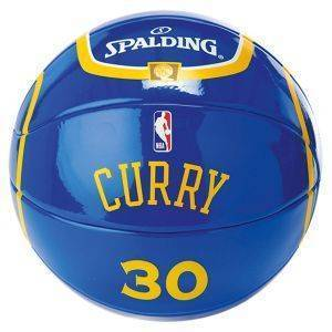 ΜΠΑΛΙΤΣΑ SPALDING NBA MINIATURE JERSEY BALL 30 STEPHEN CURRY (SIZE 1.5)