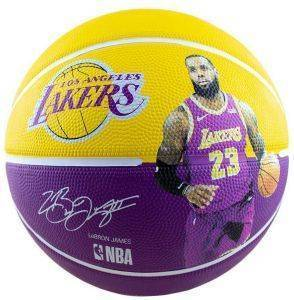 ΜΠΑΛΑ SPALDING NBA PLAYER LEBRON JAMES (7)