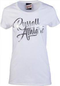 ΜΠΛΟΥΖΑ RUSSELL ATHLETIC S/S SCRIPT CREW NECK TEE ΛΕΥΚΗ