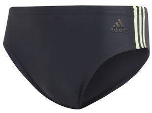 ΜΑΓΙΟ ADIDAS PERFORMANCE FITNESS 3-STRIPES SWIM TRUNKS ΜΠΛΕ ΣΚΟΥΡΟ