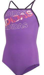 ΜΑΓΙΟ ADIDAS PERFORMANCE LINEAGE SWIMSUIT ΜΩΒ