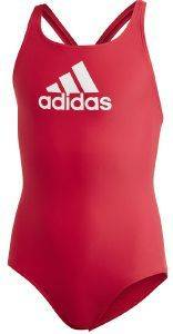 ΜΑΓΙΟ ADIDAS PERFORMANCE BADGE OF SPORT SWIMSUIT ΚΟΚΚΙΝΟ