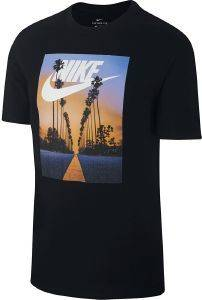 ΜΠΛΟΥΖΑ NIKE SPORTSWEAR SUNSET PALM TEE ΜΑΥΡΗ
