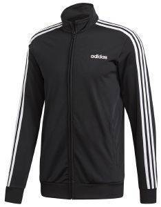 ΖΑΚΕΤΑ ADIDAS SPORT INSPIRED ESSENTIALS 3-STRIPES TRICOT TRACK ΜΑΥΡΗ (L)