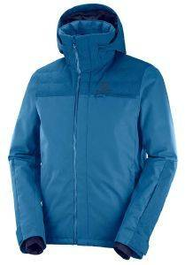 ΜΠΟΥΦΑΝ SALOMON STORMBRAVER JACKET ΜΠΛΕ