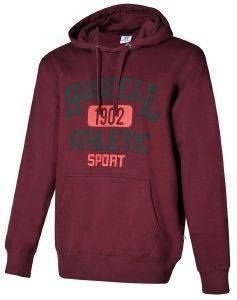 ΦΟΥΤΕΡ RUSSELL ATHLETIC 1902 PULL OVER HOODY ΜΠΟΡΝΤΩ (M)