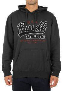 ΦΟΥΤΕΡ RUSSELL ATHLETIC USA PULL OVER HOODY ΑΝΘΡΑΚΙ (XXL)
