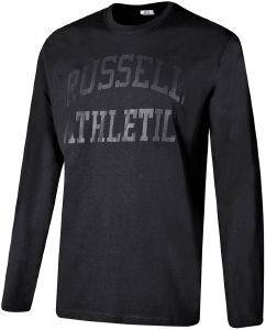 ΜΠΛΟΥΖΑ RUSSELL ATHLETIC CORE L/S TEE ΜΑΥΡΗ