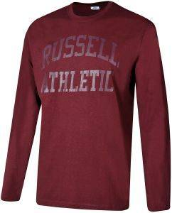 ΜΠΛΟΥΖΑ RUSSELL ATHLETIC CORE L/S TEE ΜΠΟΡΝΤΩ (L)