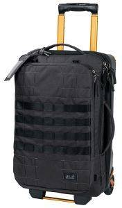 ΤΣΑΝΤΑ JACK WOLFSKIN TRT RAIL 40 TRAVEL BAG ΓΚΡΙ