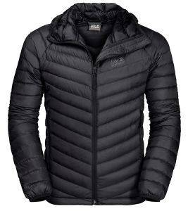 ΜΠΟΥΦΑΝ JACK WOLFSKIN ATMOSPHERE JACKET ΜΑΥΡΟ  (M)