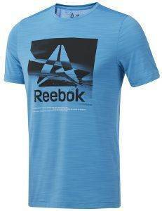 ΜΠΛΟΥΖΑ REEBOK SPORT WORKOUT READY ACTIVCHILL GRAPHIC TEE ΣΙΕΛ
