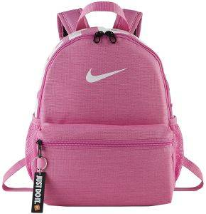 ΤΣΑΝΤΑ NIKE BRASILIA JUST DO IT MINI BACKPACK ΡΟΖ