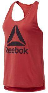 ΦΑΝΕΛΑΚΙ REEBOK SPORT WORKOUT READY SUPREMIUM LOGO TANK TOP ΚΟΚΚΙΝΟ
