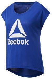 ΜΠΛΟΥΖΑ REEBOK SPORT WORKOUT READY SUPREMIUM 2.0 TEE ΜΠΛΕ (XL)