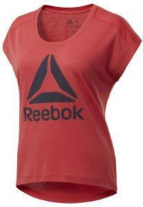 ΜΠΛΟΥΖΑ REEBOK SPORT WORKOUT READY SUPREMIUM 2.0 TEE ΚΟΚΚΙΝΗ (XL)