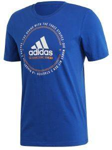 ΜΠΛΟΥΖΑ ADIDAS PERFORMANCE MUST HAVES EMBLEM TEE ΜΠΛΕ ΡΟΥΑ