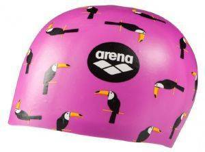 ΣΚΟΥΦΑΚΙ ARENA POOLISH MOULDED CAP TOUCAN ΡΟΖ