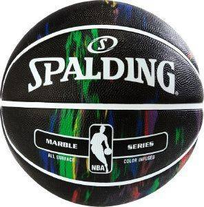ΜΠΑΛΑ SPALDING NBA BLACK MULTI COLOR OUTDOOR (7)