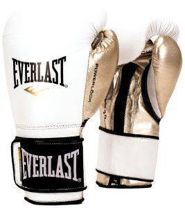 ΓΑΝΤΙΑ EVERLAST POWERLOCK HOOK AND LOOP TRAINING ΛΕΥΚΑ/ΧΡΥΣΑ