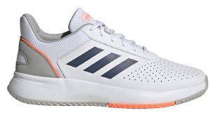 ΠΑΠΟΥΤΣΙ ADIDAS SPORT INSPIRED COURTSMASH ΛΕΥΚΟ (UK:8.5, EU:42 2/3)