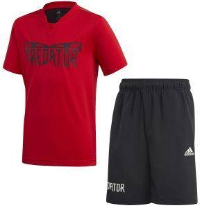 ΣΕΤ ADIDAS PERFORMANCE JB PREDATOR SUM SET ΚΟΚΚΙΝΟ/ΜΑΥΡΟ