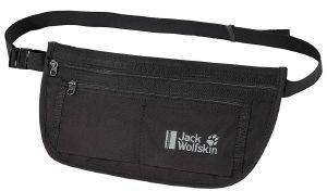 ΤΣΑΝΤΑΚΙ JACK WOLFSKIN DOCUMENT BELT RFID BAG ΜΑΥΡΟ