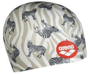ΣΚΟΥΦΑΚΙ ARENA POOLISH MOULDED CAP ZEBRAS ΛΕΥΚΟ