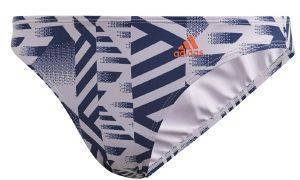 ΜΑΓΙΟ ADIDAS PERFORMANCE HIPSTER BIKINI BOTTOMS ΛΙΛΑ/ΜΠΛΕ