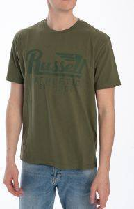 ΜΠΛΟΥΖΑ RUSSELL ATHLETIC WINGS S/S CREWNECK TEE ΧΑΚΙ