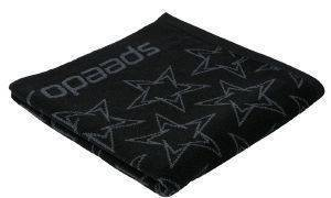 ΠΕΤΣΕΤΑ SPEEDO BOOMSTAR ALLOVER TOWEL ΜΑΥΡΗ (70X140 CM)
