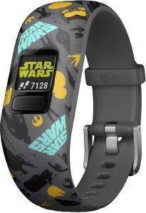 ΔΡΑΣΤΗΡΙΟΓΡΑΦΟΣ GARMIN VIVOFIT JR. 2 TRACKER STAR WARS THE RESISTANCE ΑΝΘΡΑΚΙ