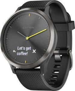 ΡΟΛΟΪ GARMIN VIVOMOVE HR SPORT ΜΑΥΡΟ (L)