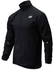 ΜΠΟΥΦΑΝ NEW BALANCE IMPACT RUN JACKET ΜΑΥΡΟ