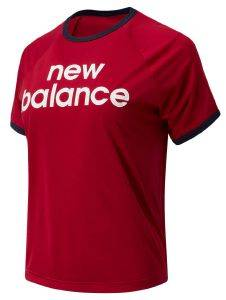 ΜΠΛΟΥΖΑ NEW BALANCE ACHIEVER GRAPHIC HIGH LOW TEE ΚΟΚΚΙΝΗ