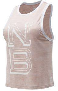 ΦΑΝΕΛΑΚΙ NEW BALANCE PRINTED FAST FLIGHT TANK ΡΟΖ